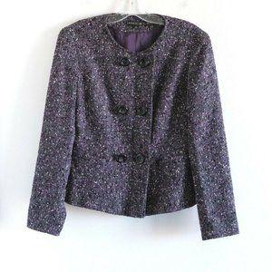 Lafayette 148 wool blazer jacket double breasted M